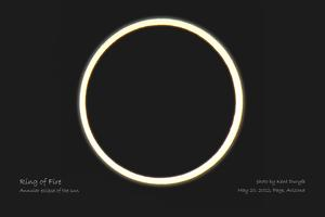 Solar Eclipse, May 20, 2012 - Page, Arizona